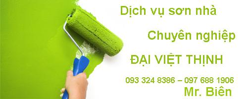 Dịch vụ sơn nhà, sơn nước giá rẻ tại TP HCM