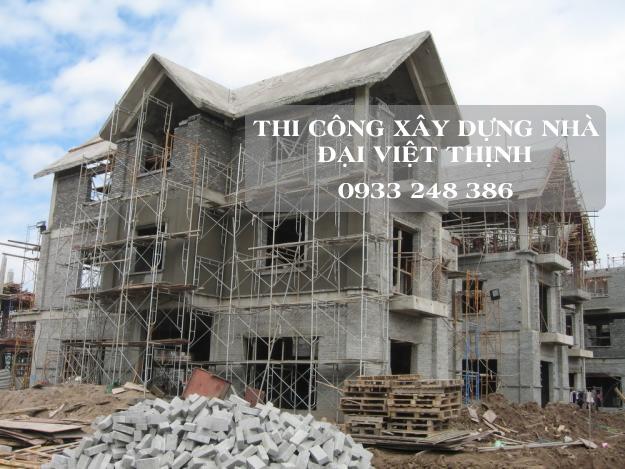 Thi công xây dựng nhà ở ĐẠI VIỆT THỊNH