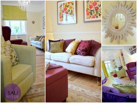 Một số hình ảnh sau khi thiết kế lại bổ sung thêm đồ đạc và trang trí lại nội thất
