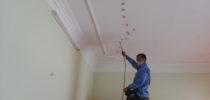 Cách xử lý vết nứt trần nhà